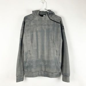 Adidas Gray ZNE Pulse Pullover Hoodie Medium